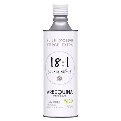 Huile d'olive Arbequina - Fruits mûrs - 50cL