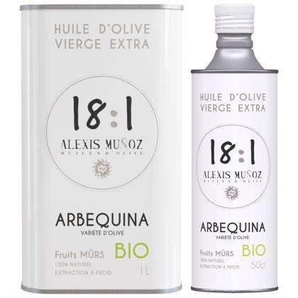 Coffret découverte - 3 Huiles d'olives gastronomiques - 50cL