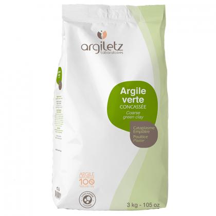 Argile verte concassée - 3kg