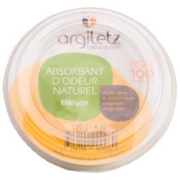 Absorbant d'odeurs naturel agrumes - 115g