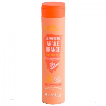 Shampoing à l'argile orange...