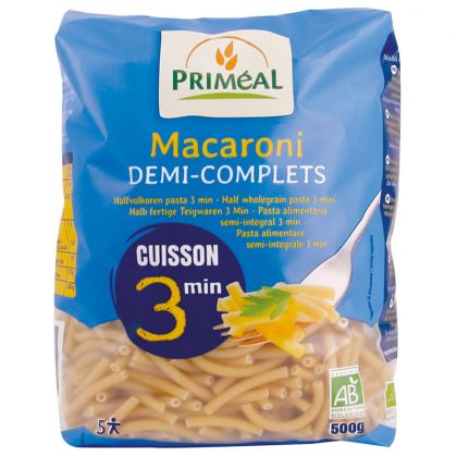 Macaroni 1/2 complets express - 500g