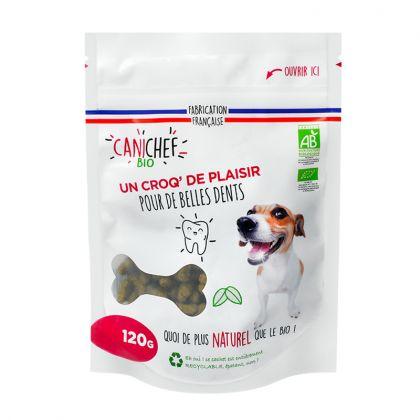 Friandises bio pour chien - Hygiène bucco-dentaire - 120g