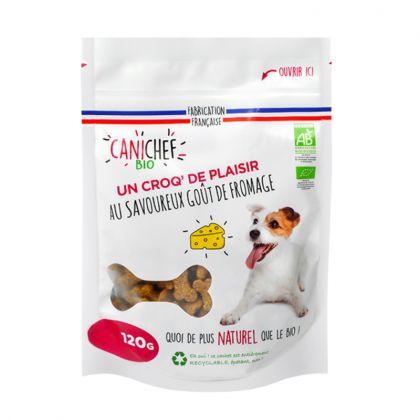 Friandises bio pour chien - Goût fromage - 120g
