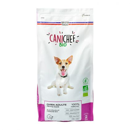 Croquettes sans céréales chien petite race - 2kg