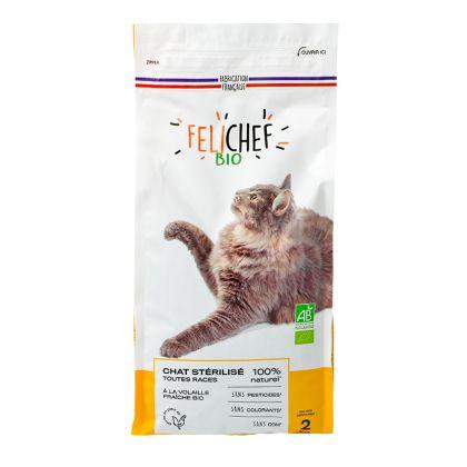 Croquettes pour chat stérilisé - 2kg