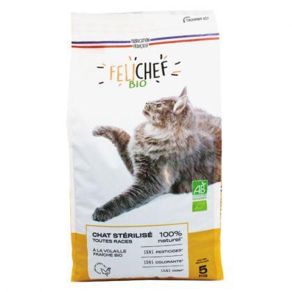 Croquettes pour chat stérilisé - 5kg