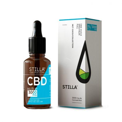 Huile de CBD 30% - Noix de coco bio - 10mL