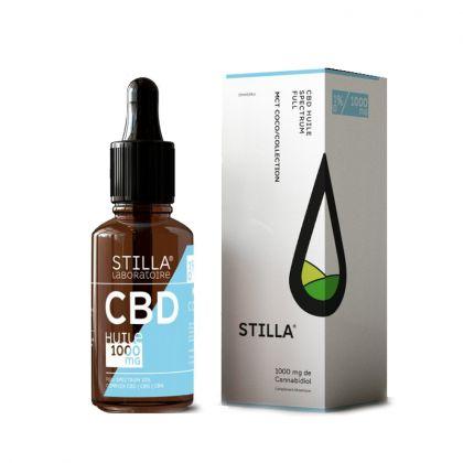 Huile de CBD 10% - Noix de coco bio - 10mL