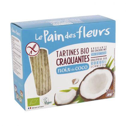 Tartines craquantes à la noix de coco - 150g