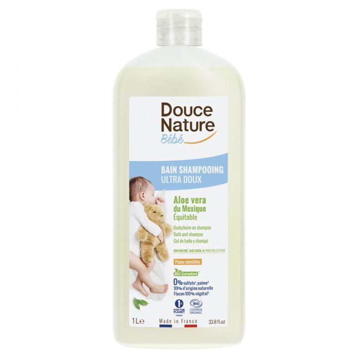 Bain & shampoing bébé - Ultra doux - 1L