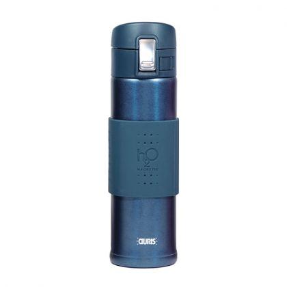 Gourde Magnétique H2O Aquaflux® - Bleu Paon