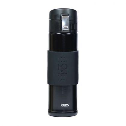 Gourde Magnétique H2O Aquaflux® - Noire