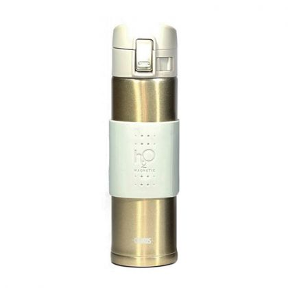 Gourde Magnétique H2O Aquaflux® - Dorée