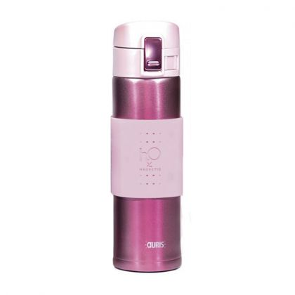 Gourde Magnétique H2O Aquaflux® - Rose