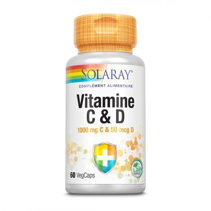 Vitamines C 1000mg - 30 comprimés