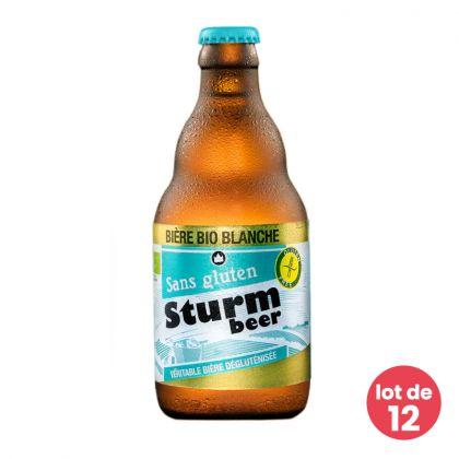 Sturmbeer - Bière blanche bio et sans gluten - 12 x 33cL