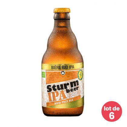 Sturmbeer - Bière IPA bio et sans gluten - 6 x 33cL