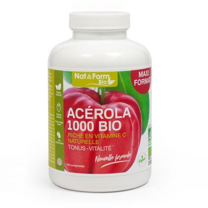 Acérola 1000 bio - 100 comprimés