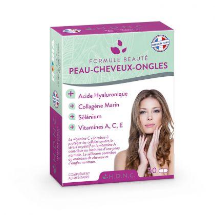 Formule Beauté Peau Cheveux Ongles 30 Comprimés H.D.N.C.