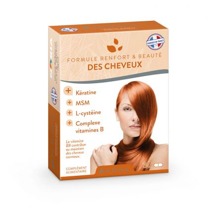 Formule Renfort et Beauté des Cheveux 30 Comprimés H.D.N.C.