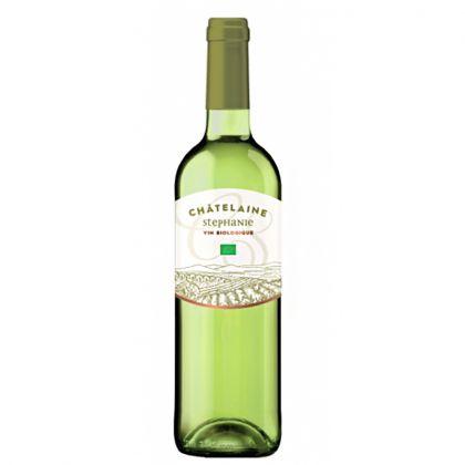 Châtelaine Stéphanie - Vin blanc bio d'Espagne - 75cL