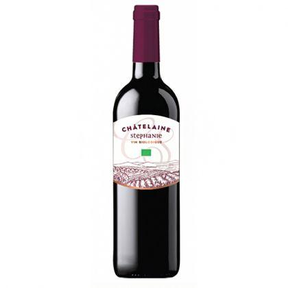 Châtelaine Stéphanie - Vin rouge bio d'Espagne - 75cL