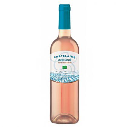 Châtelaine Stéphanie - Vin rosé bio d'Espagne - 75cL