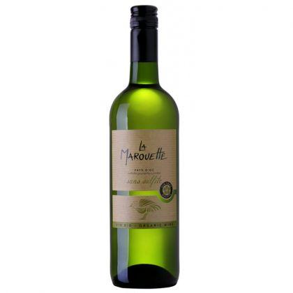 La Marouette Blanc - Chardonnay blanc bio et sans sulfites - 75cL