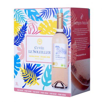 Le Soleiller - Vin de France rosé bio - 3L