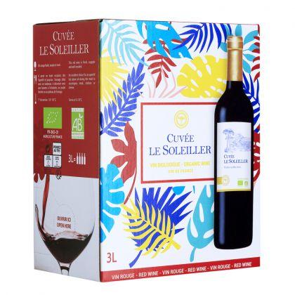 Le Soleiller - Vin de France rouge bio - 3L